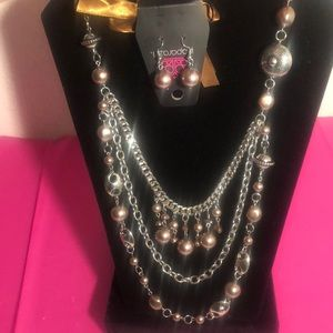 Necklace with set of earrings